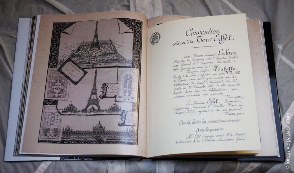 Contract of Eiffel tower