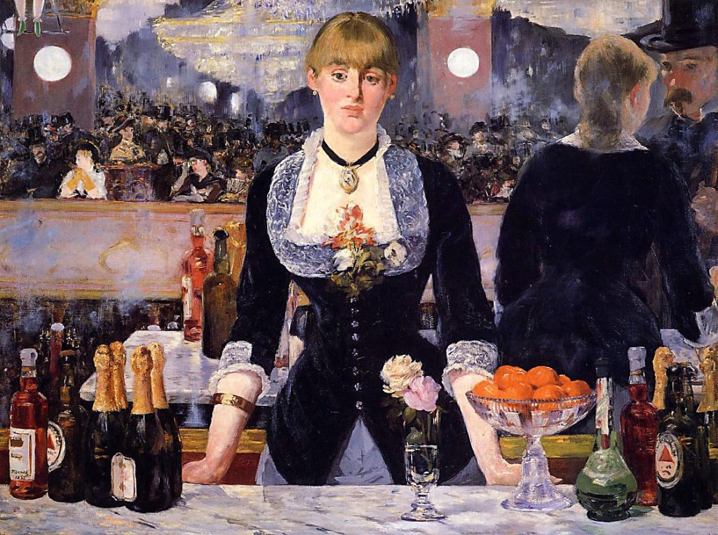 The Bar at the Folies-Bergère-Édouard Manet