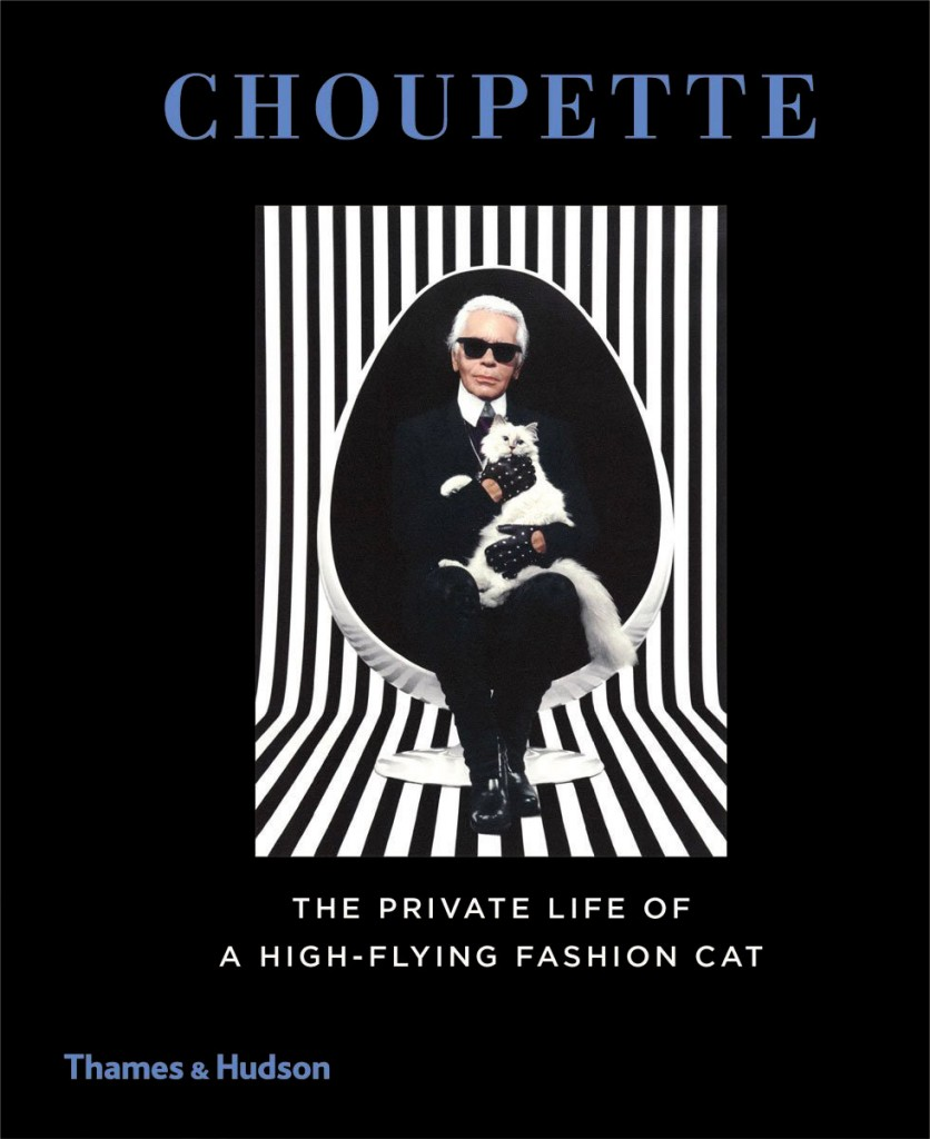 """CHOUPETTE"" the book of Karl Lagerfeld's fashion CAT !"