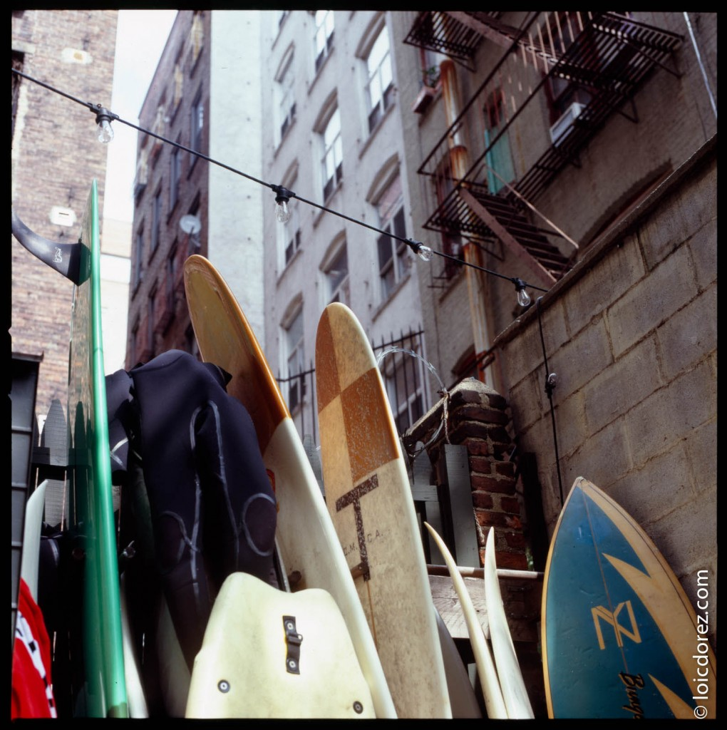 A surf shop in the heart of Manhattan