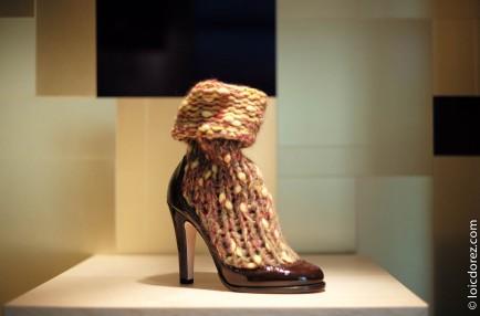 Boutique Chanel Chaussures, Paris